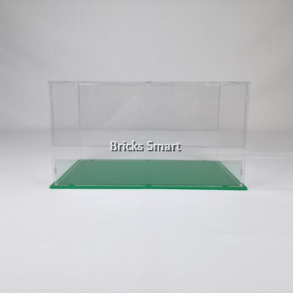 Acrylic Case with Green Base for 21316 LEGO Ideas The Flinstones