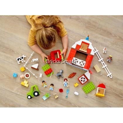 10952 LEGO Duplo Barn, Tractor & Farm Animal Care