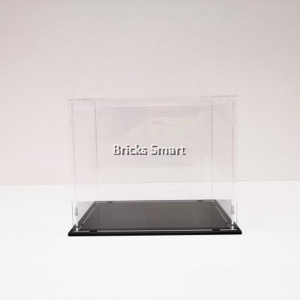 Acrylic Case with Black Base for 12pcs LEGO Minifigures