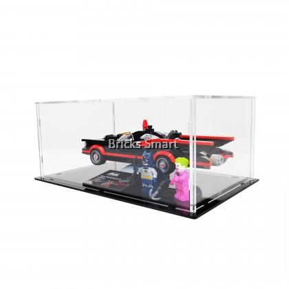 Acrylic Case with Black Base for 76188 LEGO DC Comics Batman Classic TV Series Batmobile