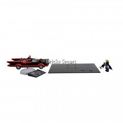 Modified Acrylic Base for 76188 LEGO DC Comics Batman Classic TV Series Batmobile